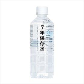 イザメシ 七年保存水 500ml(ケース売り)